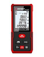 cheap -Laser Rangefinder Distance Meter 120m Electronic Roulette Digital Trena Laser Tape Measure Range Finder