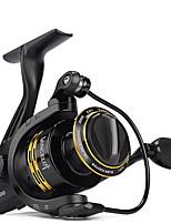 cheap -Fishing Reel Spinning Reel 5:1/4.4:1 Gear Ratio+6 Ball Bearings Hand Orientation Exchangable Sea Fishing / Freshwater Fishing / Trolling & Boat Fishing