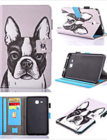 cheap -Case For Samsung Galaxy Samsung TAB S3 9.7 T820  T825  Samsung TAB E 9.6 T560  T561  T565  T567V 360 Rotation  Shockproof  Magnetic Full Body Cases Cat  Animal  Panda PU Leather  TPU