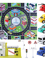 cheap -Construction Truck Toys Rail Car Toy Mini Classic Car SUV Simulation Plastic Mini Car Vehicles Toys for Party Favor or Kids Birthday Gift 4-5 pcs / Kid's
