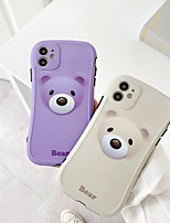 cheap -Case For Apple iPhone 7 8 7plus 8plus X XR XS XSMax SE(2020) iPhone 11 11Pro 11ProMax Shockproof  Pattern Back Cover Animal  3D Cartoon TPU