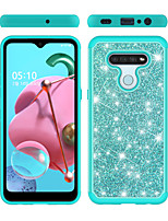 cheap -Case For Apple iPhone 6 6s 7 8 6plus 6splus 7plus 8plus X XR XS XSMax SE(2020) iPhone 11 11Pro 11ProMax Shockproof  Glitter Shine Back Cover Solid Colored  Glitter Shine TPU  PC