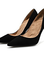 cheap -Women's Heels Fall / Winter Stiletto Heel Pointed Toe Daily PU Black
