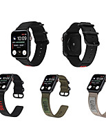 cheap -Nylon Watch Band For Apple Watch Series 5/4/3/2/1 Sport Leather Bracelet For iwatch 42mm 44mm 38mm 40mm Strap  Band