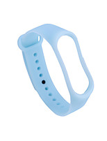 cheap -Transparent Silicone Wrist Strap for Xiaomi Mi Band 4 Xiaomi Sport Band Replacement Bracelet
