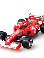 cheap -Pull Back Car / Inertia Car Pull Back Vehicle F1 car Race Car Simulation Drop-resistant Plastic & Metal Mini Car Vehicles Toys for Party Favor or Kids Birthday Gift / Kid's
