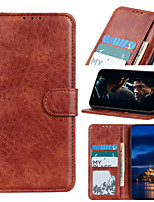 cheap -Case For Samsung Galaxy S8 S8 Plus S9 S9 Plus S10 S10 PLUS S10E S10 5G S20S20 Plus S20 Ultra S10 LITE A91 Card Holder Flip Magnetic Full Body Cases  PU Leather TPU Vintage solid color