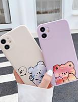 cheap -Case For APPLE iPhone XR XS XSMAX X SE 11 11Pro 11ProMax Pattern Cute Bear Back Cover Cartoon TPU