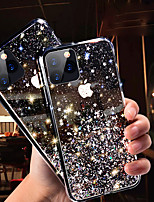 cheap -iPhone11Pro Max Translucent Starry Sky Phone Shell XS Max Soft Shell TPU For 6 7 8Plus SE 2020 Protective Shell