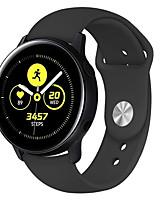 cheap -20mm Silicone Watchband for Samsung Galaxy Watch 42mm Sport  Silicone Wrist Strap