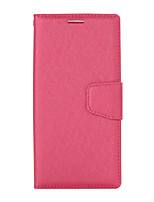 cheap -Case For Sony XZ1 Card Holder Flip Magnetic Full Body Cases Solid Colored PU Leather textured