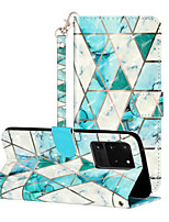 cheap -Case For Samsung Galaxy A60 M40 A70 A70S A90(5G) M20 M30 M30S A40S A51 A71 S20 S20Plus S20Ultra Shockproof  Flip  Pattern Full Body Cases Butterfly  Animal  Flower PU Leather  TPU