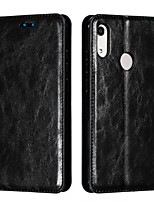 cheap -Case for Huawei Honor 8A 9X 9Xpro 9C 9S 10i 10Lite 20i Card Holder Magnetic Full Body Cases Lines Waves PU Leather