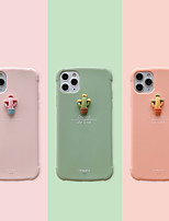 cheap -Case For Apple iPhone 7 iPhone 7P iPhone 8 iPhone 8P iPhone X iPhone iPhone XS iPhone XR iPhone XS max iPhone 11 iPhone 11 Pro iPhone 11 Pro Max Shockproof Back Cover Solid Colored Flower TPU