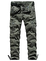 cheap -Men's Hiking Pants Hiking Cargo Pants Outdoor Standard Fit Stretchy Multi-Pocket Cotton Pants / Trousers Dark Grey Black Light Grey Khaki Hunting Climbing Camping / Hiking / Caving 29 30 31 32 33