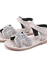cheap -Girls' Sandals Comfort PU Little Kids(4-7ys) / Big Kids(7years +) Black / Green / Beige Summer