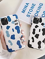 cheap -Case For APPLE  iPhone7 8 7plus 8plus  XR XS XSMAX  X SE  11  11Pro   11ProMax word Back Cover TPU cow pattern
