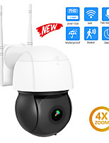 cheap -DIDSeth 3MP Wifi IP Camera PTZ 4X Digital Zoom Auto Tracking ONVIF Security CCTV Camera Audio AI Human Detection Outdoor Cam