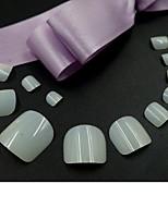 cheap -600pcs Natural False Toenail Tip for Uv Gel Manicure Fake Toe Nail Tips  12 size