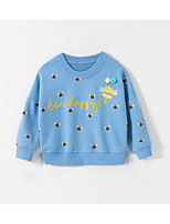 cheap -Kids Boys' Basic Animal Print Long Sleeve Hoodie & Sweatshirt Blue
