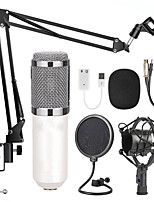 cheap -BM-800 Condenser Audio 3.5mm Wired Studio Microphone Vocal Recording KTV Karaoke Microphone Set Mic W/Stand For Computer