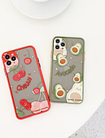 cheap -Case For Apple iPhone 7 iPhone 7P iPhone 8 iPhone 8P iPhone X iPhone iPhone XS iPhone XR iPhone XS max iPhone 11 iPhone 11 Pro iPhone 11 Pro Max Pattern Back Cover Food TPU