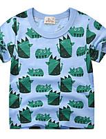 cheap -Kids Boys' Basic Geometric Short Sleeve Tee Blue