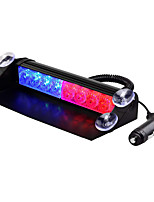 cheap -1set 8 LED Emergency Strobe Light 3 Flash Mode 12V Car Truck Dashboard Warning Flashing Lights Bar Vehicle safety signal lamp 12v