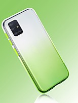 cheap -Case For Samsung Galaxy S10E S10 Plus A7 2018 A11 A41 A51 A71 A81 A6 Plus J6 Ultra-thin Transparent Back Cover Color Gradient TPU