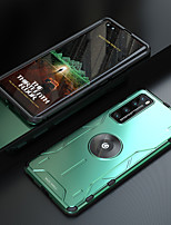 cheap -Case For Huawei Huawei P30 Huawei P30 Pro Huawei Mate 20 pro Shockproof Ring Holder Full Body Cases Solid Colored PC