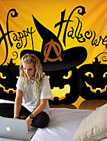 cheap -Tapestry Halloween theme cool pumpkin home decoration wall hanging quilt big tablecloth party decoration