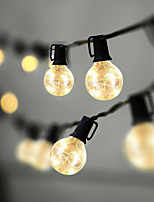 cheap -Waterproof Outdoor LED String Lights 8.4m 27.5ft G40 Bulbs 25 LEDs Patio String Lights CE Standard Warm Indoor Outdoor Fairy Lights for Backyard Bistro Cafe Pergola Tree Party Decoration