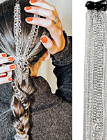 cheap -Women's Hair Jewelry For Gift Holiday Street Birthday Party Fashion Classic Aluminum Silver 1pc