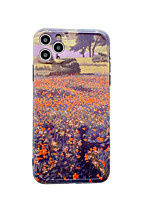 cheap -Case For Apple iPhone 7 8 7plus 8plus x xs xr xsmax SE 11 11pro 11promax Pattern Back Cover Scenery Tree Flower TPU