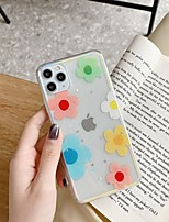 cheap -Case For Apple iPhone 11 / iPhone 11 Pro / iPhone 11 Pro Max Transparent / Pattern Back Cover Glitter Shine TPU