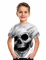 cheap -Kids Boys' Basic Jacquard Short Sleeve Tee White