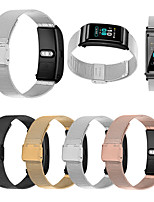 cheap -Watch Band for Huawei Fit / Huawei Honor S1 / Huawei B5 Huawei Business Band Stainless Steel Wrist Strap