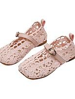 cheap -Girls' Sandals Comfort Lace Little Kids(4-7ys) Black / Pink / Beige Summer