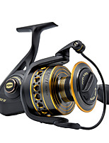 cheap -Fishing Reel Spinning Reel 6.2:1/5.6:1/5.3:1 Gear Ratio+6 Ball Bearings Hand Orientation Exchangable Freshwater Fishing
