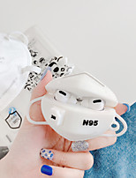cheap -Case For AirPods Pro Cute / Pattern Headphone Case Soft