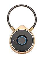cheap -USB Rechargeable Smart Bluetooth Fingerprint Lock Anti-Theft Lock Security Door Luggage Padlock