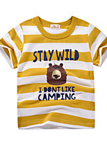 cheap -Kids Boys' Street chic Striped Short Sleeve Tee Blue