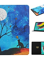 cheap -Case For Samsung Galaxy Samsung Tab A 10.1(2019)T510 / Samsung Tab A 8.0(2019)T290/295 / Samsung Tab S5E 10.5 SM-T720 / T725 Card Holder / with Stand / Pattern Full Body Cases PU Leather