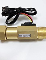 cheap -DN15 Union Nut Active Connection * Counter ANGLE VALVE Ball Float Level Sensor Brass Pipe Valve SEN-HZ21FD