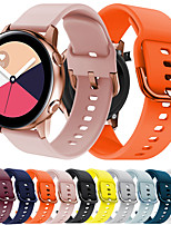 cheap -Replacement 20MM for Samsung Galaxy Watch Active Silicone Breathable Sport Smart Watch Band