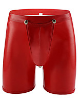 cheap -Men's Cut Out Boxers Underwear - Normal Low Waist White Black Red M L XL