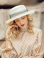 cheap -Headwear Casual Polyester Hats with Pearls 1pc Wedding / Daily Wear Headpiece