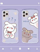 cheap -Case For Apple iPhone 7 iPhone 7P iPhone 8 iPhone 8P iPhone X iPhone iPhone XS iPhone XR iPhone XS max iPhone 11 iPhone 11 Pro iPhone 11 Pro Max Shockproof Pattern Back Cover Cartoon TPU