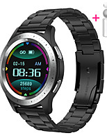 cheap -JSBP HW68 Men Women Smartwatch Smart Watch Call BT Fitness Tracker Support Notify Full Touch Screen/Heart Rate Monitor Sport Stainless Steel Bluetooth Smartwatch Compatible IOS/Android Phones