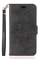 cheap -Case for Samgung Galaxy Note 10 10pro Flip Magnetic Full Body Cases Flower PU Leather